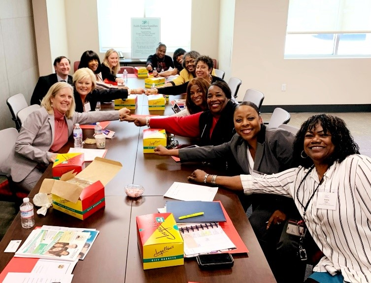 ALL IN at the Faith Foster Families Network roundtable