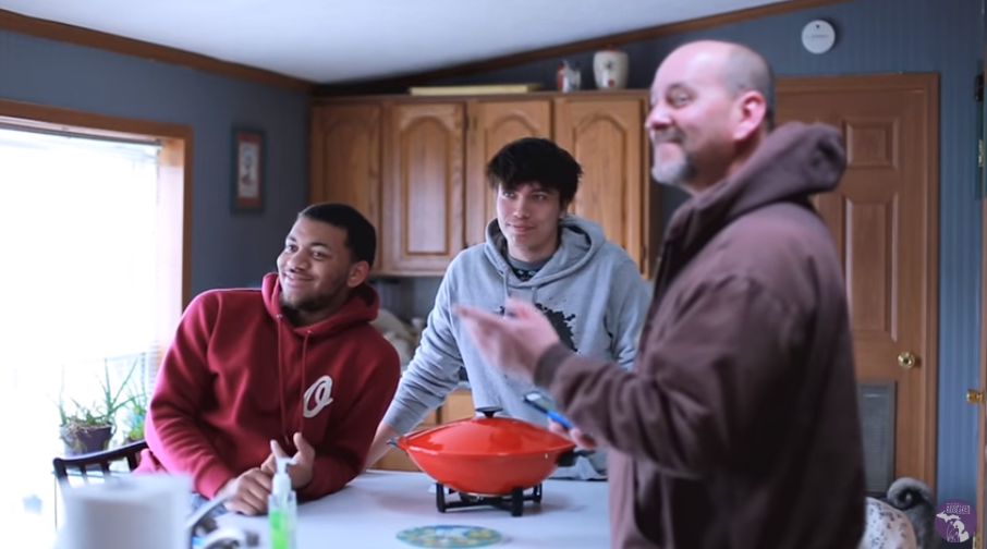 Video of a family sharing their adoption experience