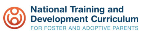 Logo: National Training and Development Curriculum for Foster and Adoptive Parents