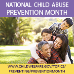 National Child Abuse Prevention Month 2019 Badge with cover image