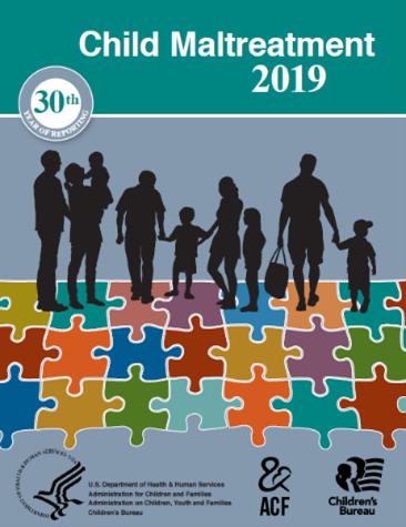Cover of the 2019 Child Maltreatment Report