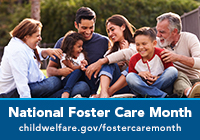 National Foster Care Month 2020 Badge