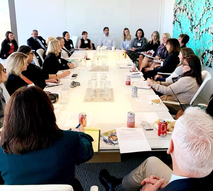 Pritzker Foundation roundtable