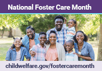 National Foster Care Month 2019 Medium Graphic 200x140