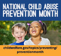 National Child Abuse Prevention Month 2017 logo, Building Community Building Hope, www.childwelfare.gov/topics/preventing/month2017prevention/