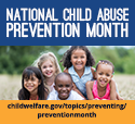 National Child Abuse Prevention Month Small Widget_125x114