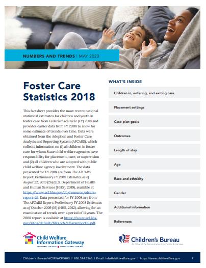 Foster Care Statistics 2018