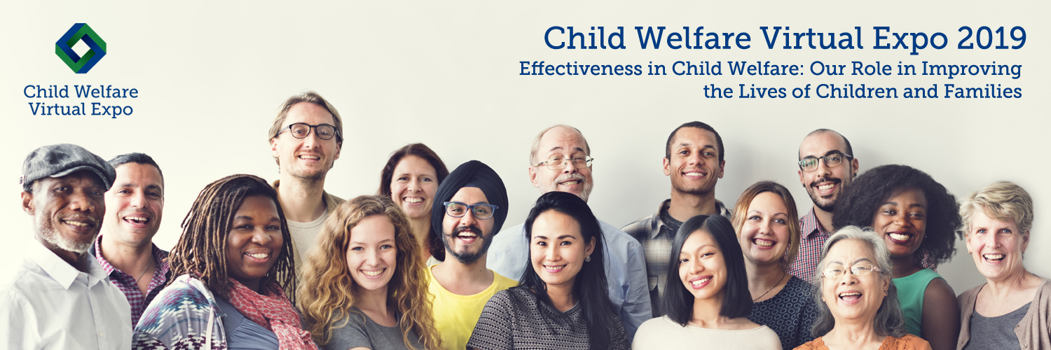 Child Welfare Virtual Expo 2019 Twitter Cover Photo